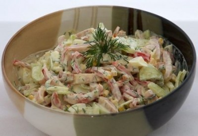 Салат з курятини