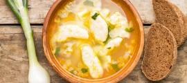 Суп із галушками