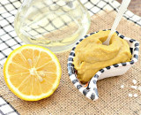 Домашня гірчиця з лимоном