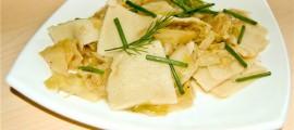Галушки з капустою