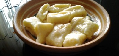 Галушки сирні