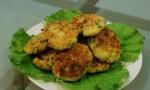 Картопляні котлети з кукурудзою і цибулею