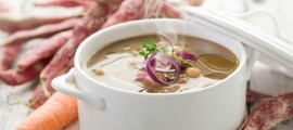 Суп з білої квасолі
